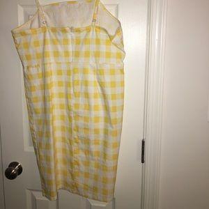 113e2e536a3 Forever 21 Dresses - Plus Size Gingham Cami Dress